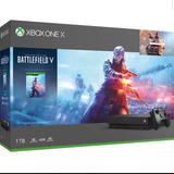 Xbox One X Edición Deluxe Con Battlefield 1tb Memoria Nuevo