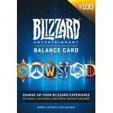 Tarjeta De Saldo Battlenet 100 Blizzard Wow Diablo Overwatch