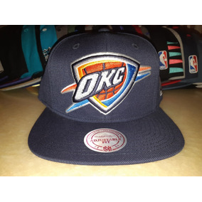Gorra Snapback Mitchell And Ness Oklahoma City Thunder 143f94ac4e5