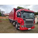 Scania P310 2014 Bau Refrigerado Com Entrada Agregado