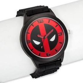 Reloj Dead Pool Marvel Original Correa De Silicon Nuevo