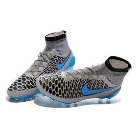 65192005a8 Chuteira Nike Mercurial Azul E Laranja - Chuteiras Prateado no ...