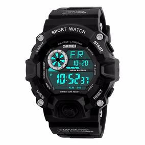 edcc8ad1e0e Relógio Masculino Esportivo Militar Shock Digital Original