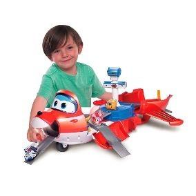Avião Jett Transformer Gigante Super Wings Barão 83417