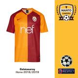 Camisa Galatasaray 2018 2019 Home Uniforme 1 Belhanda 60953ff99b98a