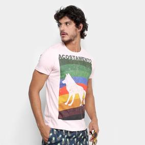Camiseta Acostamento Arco-íris Masculina