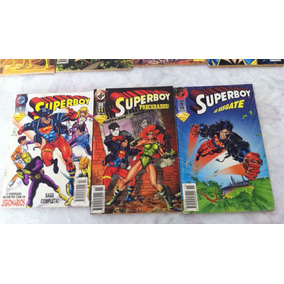 Lote 03 Revistas Superboy Dc Comics - 07,11 E 15. Ed.abril