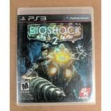 Video Juego Bioshock 2 (sony Playstation 3, 2010) - Complet