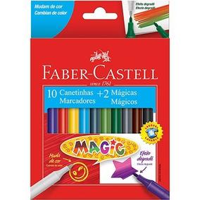 Canetinha Faber Castell Cores Mágicas - 10 Cores - Novo