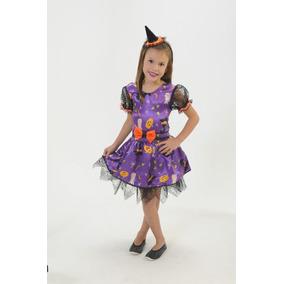 Fantasia Infantil Bruxa Roqueira De Luxo Carnaval - Brinquedos e ... 668a9f70eb8