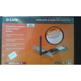 D-link Wireless G Desktop Adapter Dwa-510