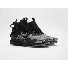Tênis Nike Air Presto Mid Acronym Cool Grey 43br / 11us