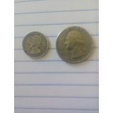 Monedas Antiguas Mal Acuñada