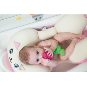 Almofada Para Banho Na Banheira Estilo Gatinha Baby Pil