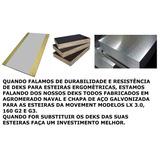 Decks Para Esteiras Ergométricas Duráveis Feitos De Aço.