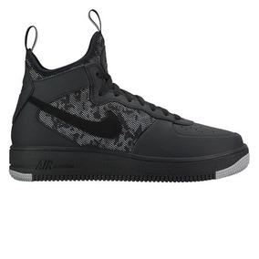 d2c285c1e79 Zapatillas Air Force Negras Hombre Talle 44.5 - Zapatillas Nike ...