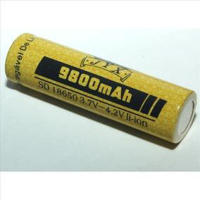 Carregador Duplo + 2 Bateria Recarregável 18650 4.2v 9800mah