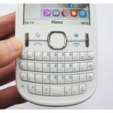 Celular Nokia Asha 201movistar Blanco Excelente En Caja