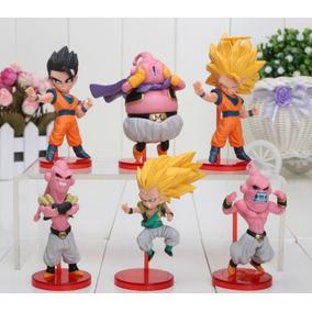 the latest c929c 7d12a 6 Figuras Dragon Ball Goku Gohan Majin Boo 8cm Envío Gratis