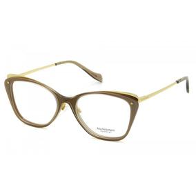 Oculos De Grau Bege E Marrom Feminino Ana Hickmann - Óculos Armações ... 4395b7ea2b