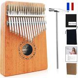 Kalimba Con 17 Claves Pulgar Piano Instrumentos Musicales