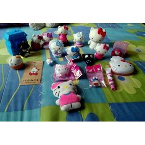 Lote De Piezas Figuras Hello Kitty