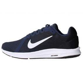 Tenis Nike Downshifter 8 Azul Marino - Hombre - 908984-400
