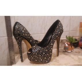 más baratas e6750 7c46a Zapatos Para Mujer Taco 5 - Calzado Mujer, Usado en Mercado ...