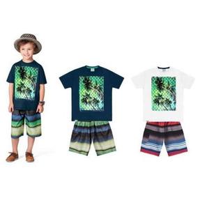 Conjunto Camiseta + Bermuda - 2223 Menino