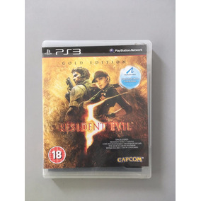 Resident Evil 5 Gold Edition Ps Move Ps3 Original