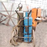 Conjunto De Solda Oxigênio Acetileno Usado Sz87 Frete Grátis