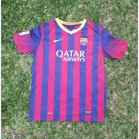 c6827bc8fd696 Camiseta Barcelona Niños Futbol Camisetas - Camisetas en Mercado ...