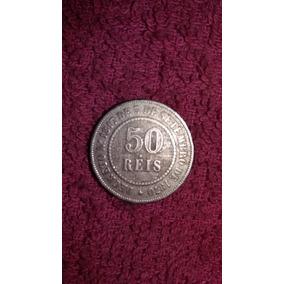 Moeda 50 Réis 1886