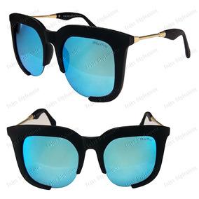 3862e8c1fe178 Oculos Miu Miu Renoir Preto Fosco De Sol - Óculos no Mercado Livre ...