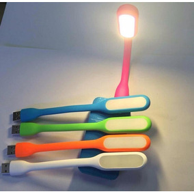 Kit 5 Luminária Led Abajur Notebook Pc Usb Flexível Portátil