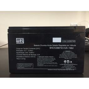 Bateria 12v 7ah Weg