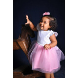 Disponibilidad Inmediata Vestido Elegante Niña Bebe Talla 2