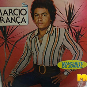 Marcio França 1977 Manchete De Jornal Lp Porta Encostada