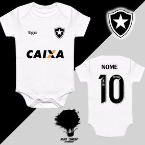 2d9a00eb48 Body Do Botafogo - Bodies Manga Curta de Bebê no Mercado Livre Brasil