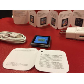 Ipod 6a Touch Generación Tipo Reloj 8 Gb Envió Gratis