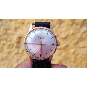 Reloj Silvana A Cuerda Enchado Oro 18kl Funciona
