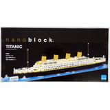 Nanoblock Titanic Gigante Rompecabezas 3d Tienda Oficial