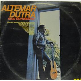 Lp Altemar Dutra - Mais Sentimental - A361