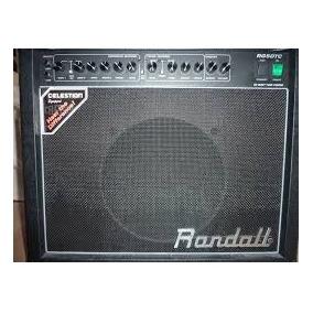 Amplificador Para Guitarra Randall Rg50tc Full Válvulas