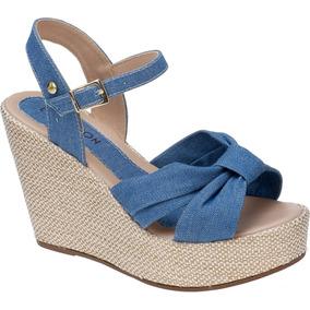 a292c5d42 Saltos Femininos Plataforma - Sapatos Azul marinho no Mercado Livre ...