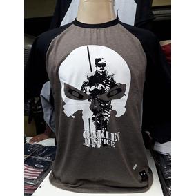 Kit 10 Camisa Camiset Masculina Raglan Okle Revenda 300cdd7f363