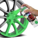 Spray Envelopamento Líquido Verde Fluorescente Multilaser