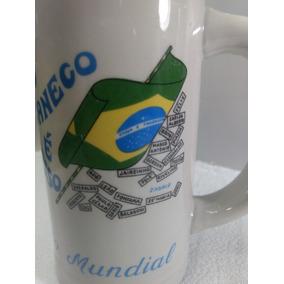 Caneco De Chopp Brasil Tri Campeão Mundial