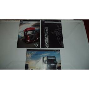 Folder/propaganda/ Caminhão Scania R500 V8