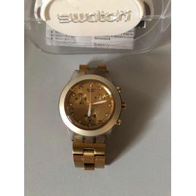 b6ab1695300 Relogio Swatch Irony Dourado - Relógio Swatch no Mercado Livre Brasil